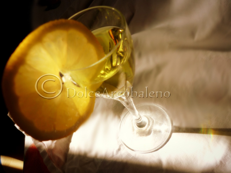 Liquore limoncello, by DolceArcobaleno.