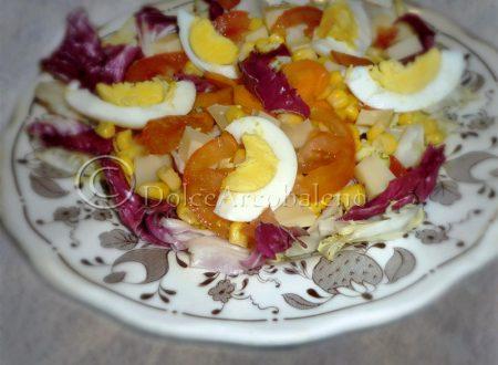 Insalatina con uova sode, ricetta veloce.