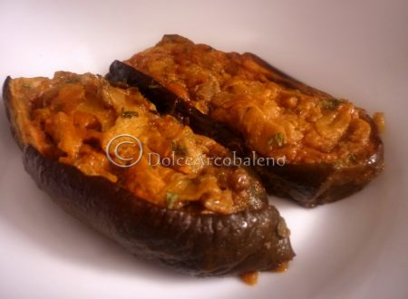 Melanzane ripiene, ricetta vegetariana.
