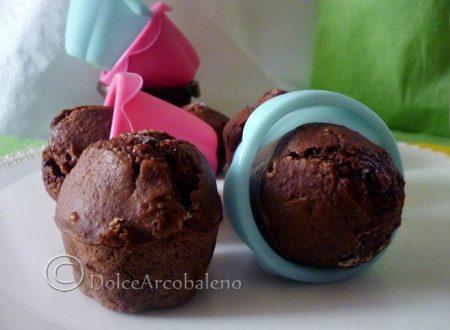 Muffin al cioccolato vegan.