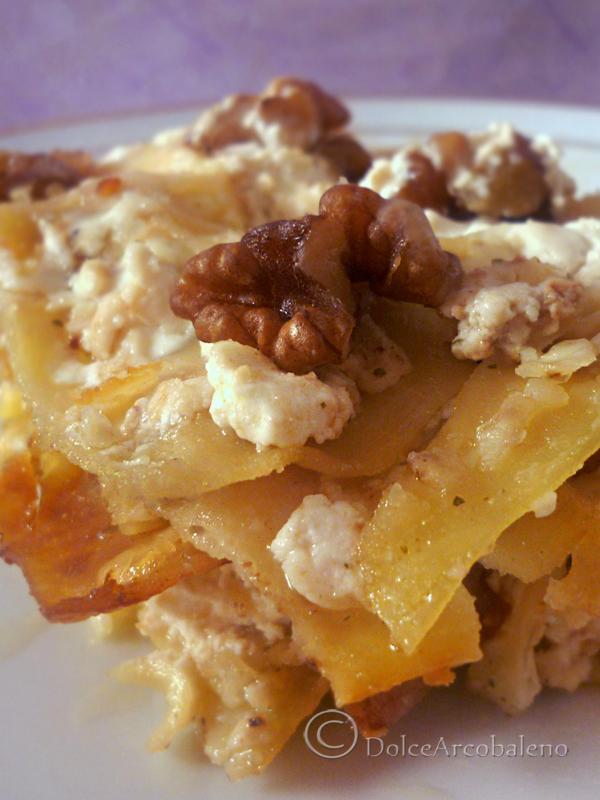 lasagna bianca con le noci by Dolcearcobaleno