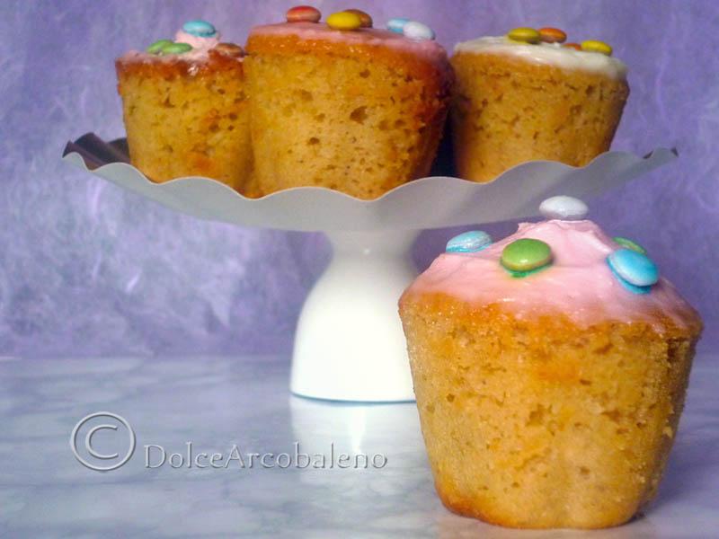 Muffin senza burro, ricetta light.   DolceArcobaleno