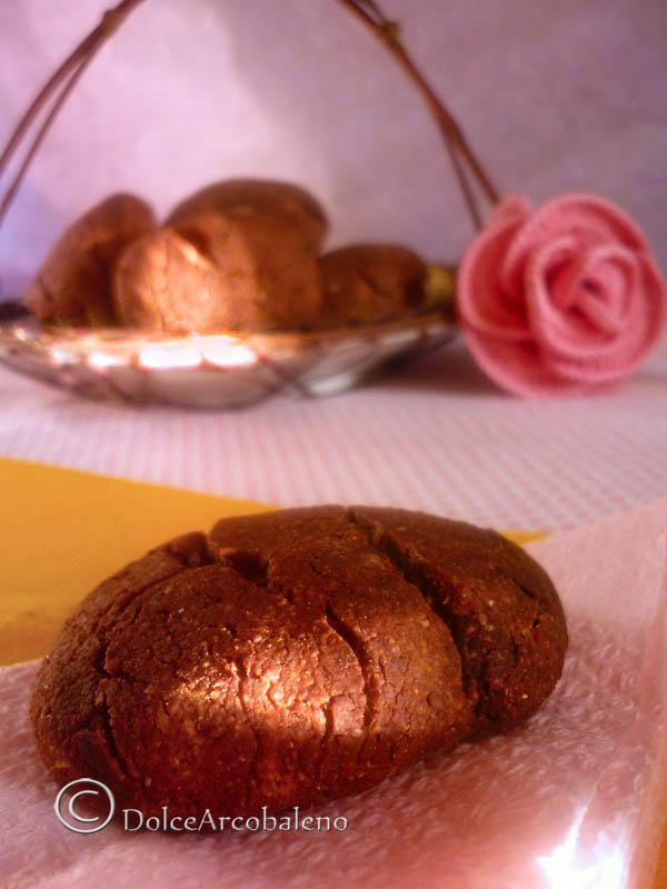 Biscotti di mais al cioccolato, ricetta dolce. by Dolcearcobaleno