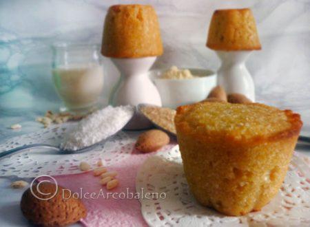 Muffin senza glutine e latte.