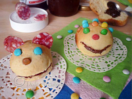 Panini per le feste dei bambini.