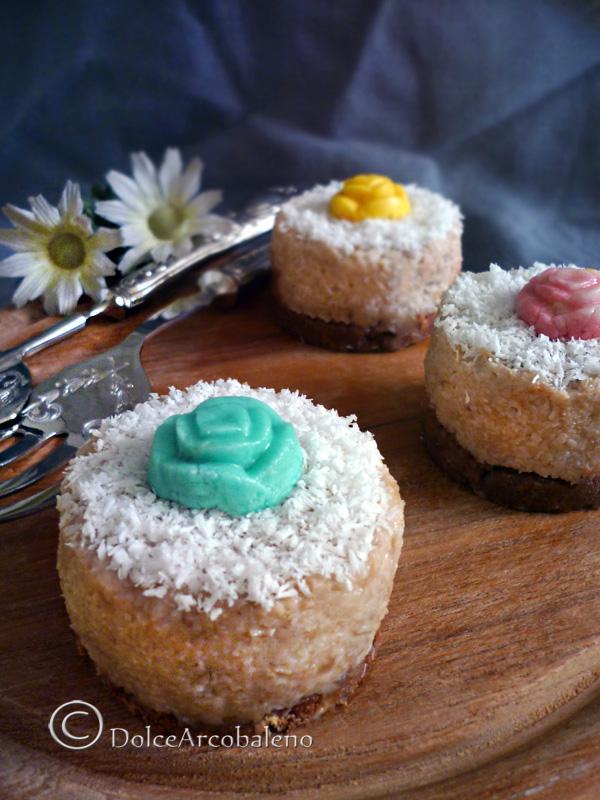 Cheesecakes alla banana mini by Dolcearcobaleno