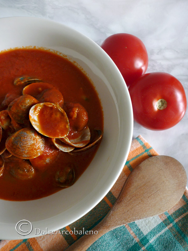 Sugo con le vongole By Dolcearcobaleno