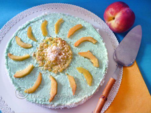 Cheesecake senza cottura con panna