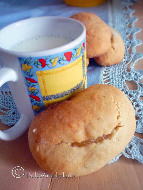 Panetti da colazione alla marmellata by Dolcearcobaleno