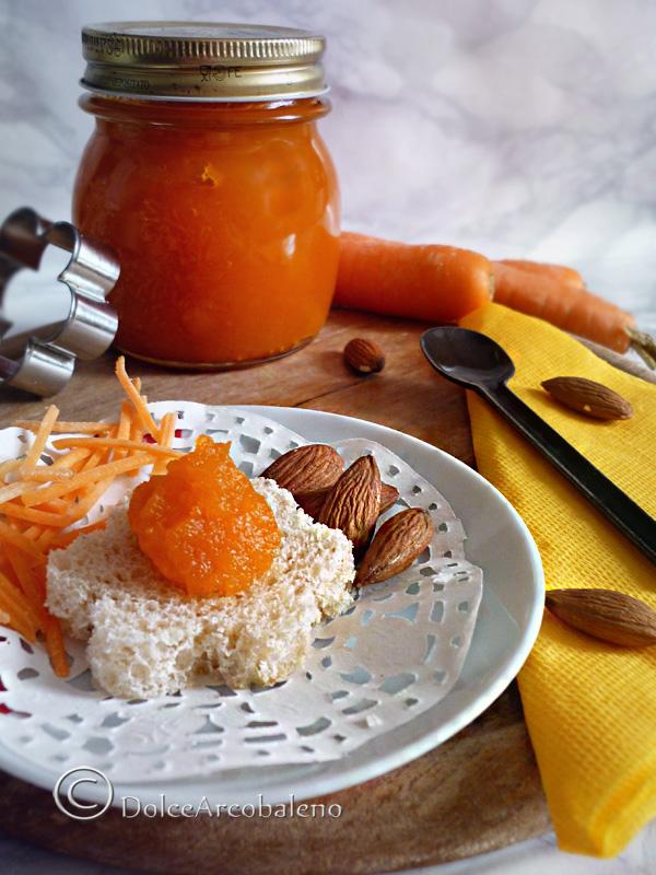 Marmellata di carote e mandorle by Dolcearcobaleno