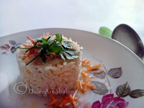 Risotto alle carote e parmigiano