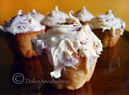 Muffin ai mirtilli e cioccolato bianco