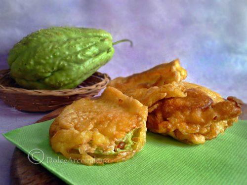 Frittelle di zucca verde spinosa antica ricetta