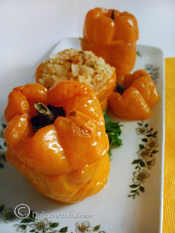 Peperoni ripieni by Dolcearcobaleno