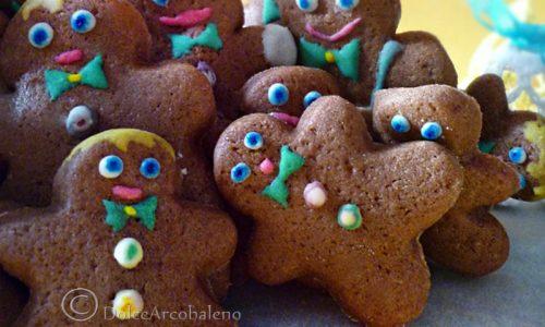 Biscotti omini di Natale