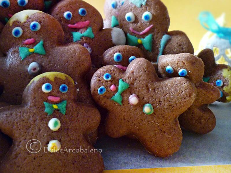 Biscotti omini di Natale by Dolcearcobaleno