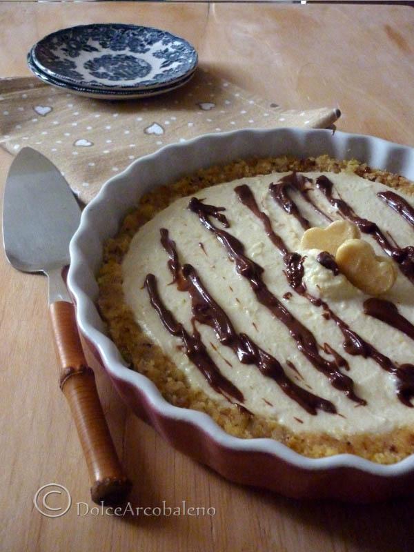Cheesecake alla crema di ricotta by Dolcearcobaleno