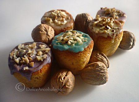Muffin con le noci