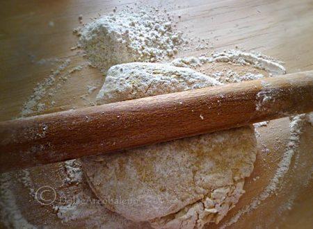 Pasta integrale fatta in casa con il metodo tradizionale