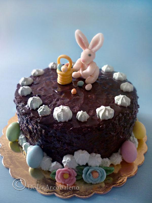 Torta decorata per Pasqua by Dolcearcobaleno