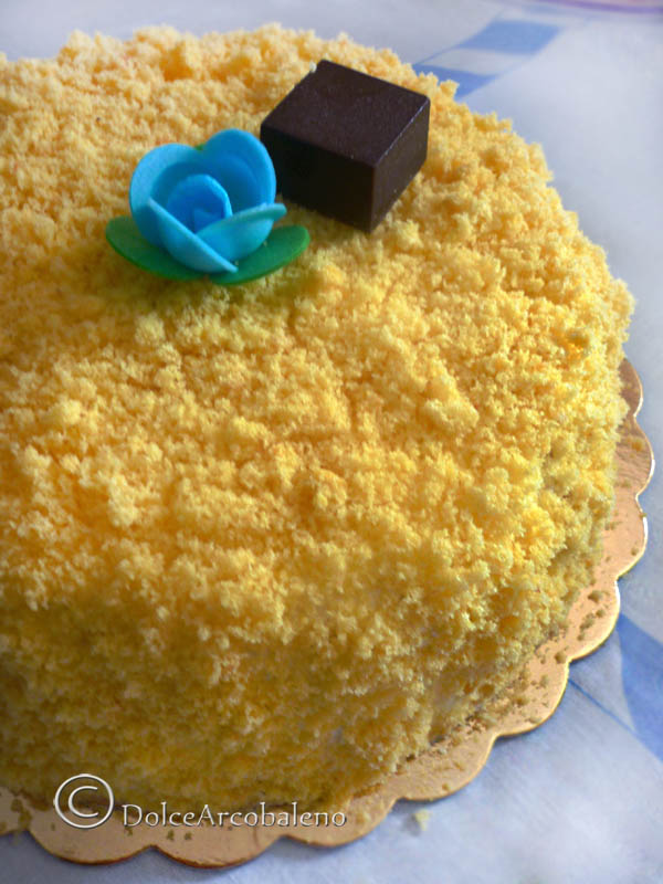 Torta mimosa by Dolcearcobaleno