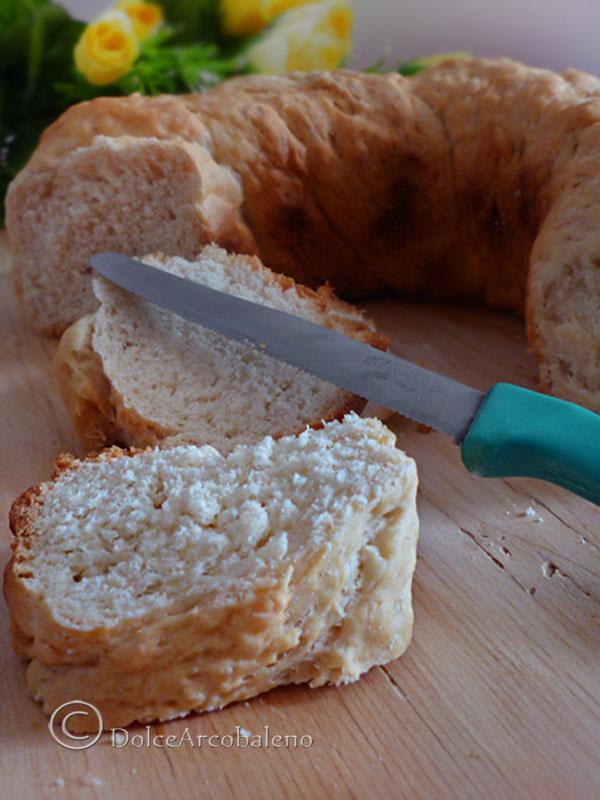 ciambella di pane al latte by Dolcearcobaleno