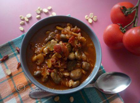 Zuppa di fave al pomodoro