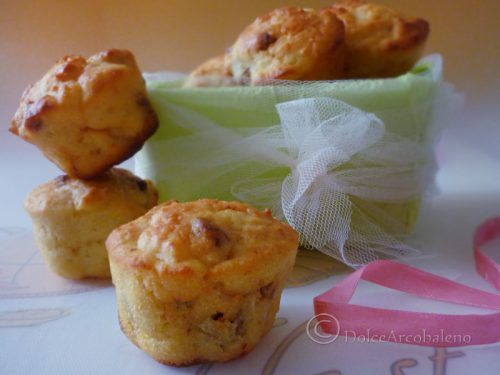 Muffin yogurt e uvetta