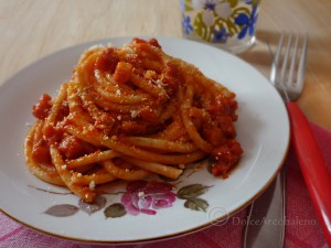 Bucatini all'amatriciana By Dolcearcobaleno