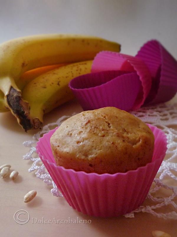 Muffin alla banana e farina di riso by DolceArcobaleno