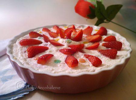 Torta fredda alle fragole