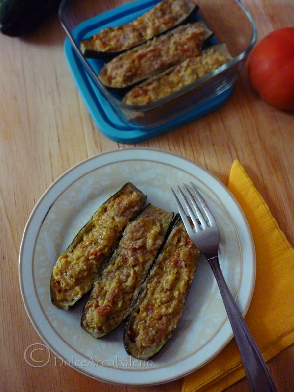 Zucchine ripiene in padella by Dolcearcobaleno