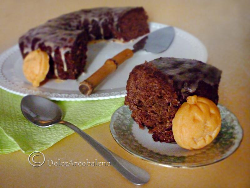 Ciambella banane e cioccolato
