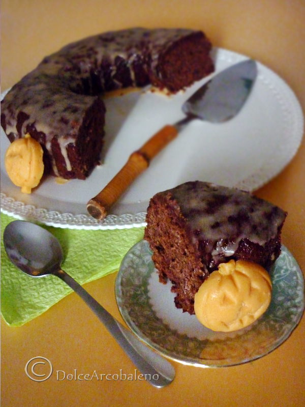 Ciambella banane e cioccolato by Dolcearcobaleno