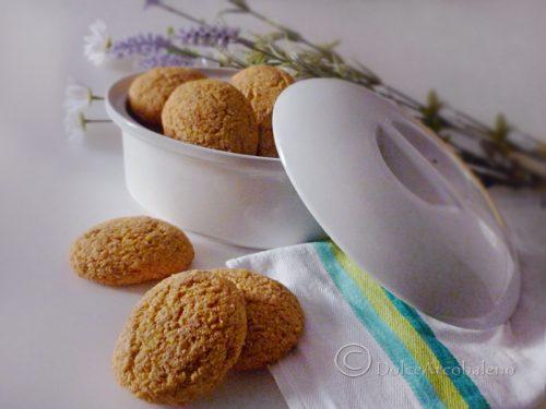 Biscotti integrali zenzero e mais