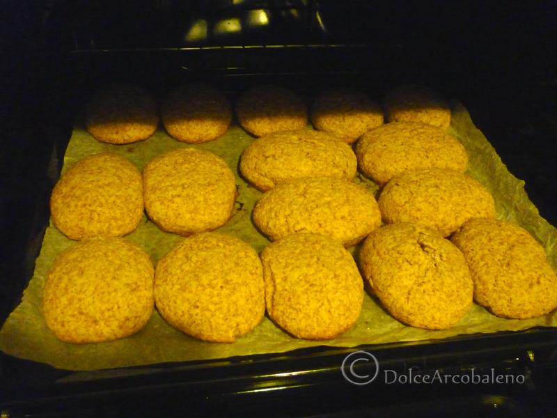 Biscotti integrali zenzero e mais by Dolcearcobaleno