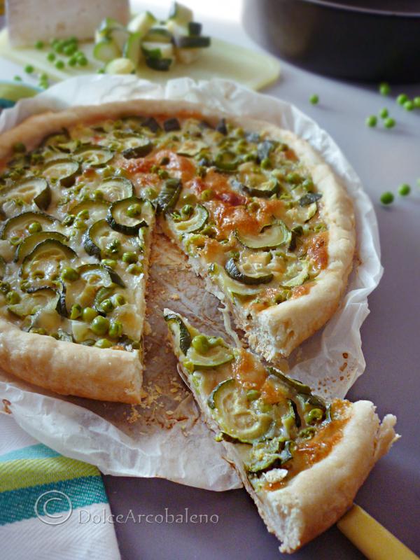 Torta salata verdure e formaggi by Dolcearcobaleno