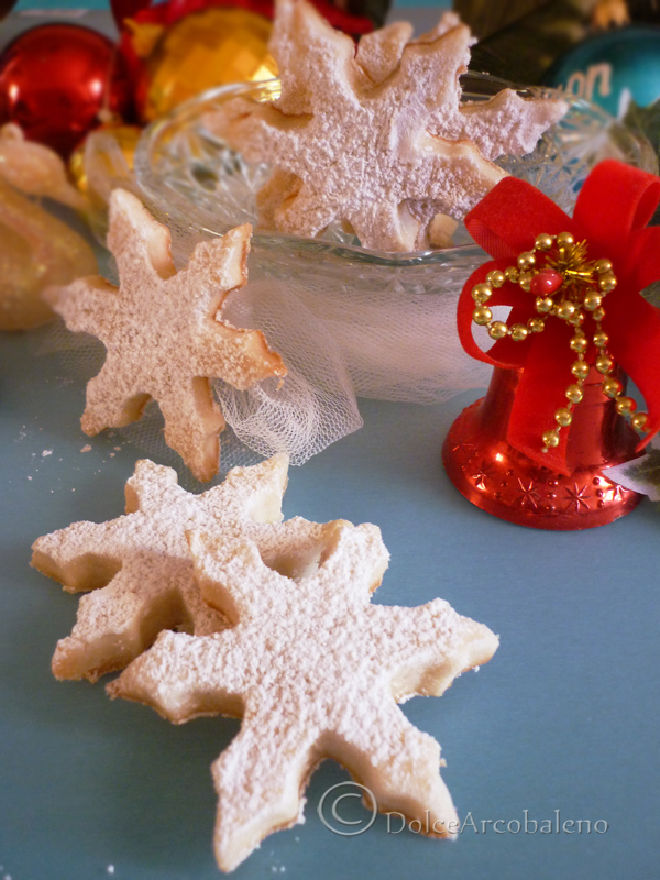 Biscotti fiocchi di neve by Dolcearcobaleno