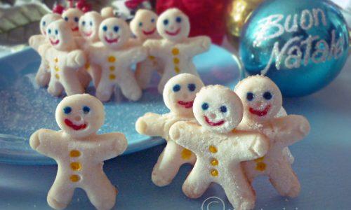 Biscotti pupazzi di neve