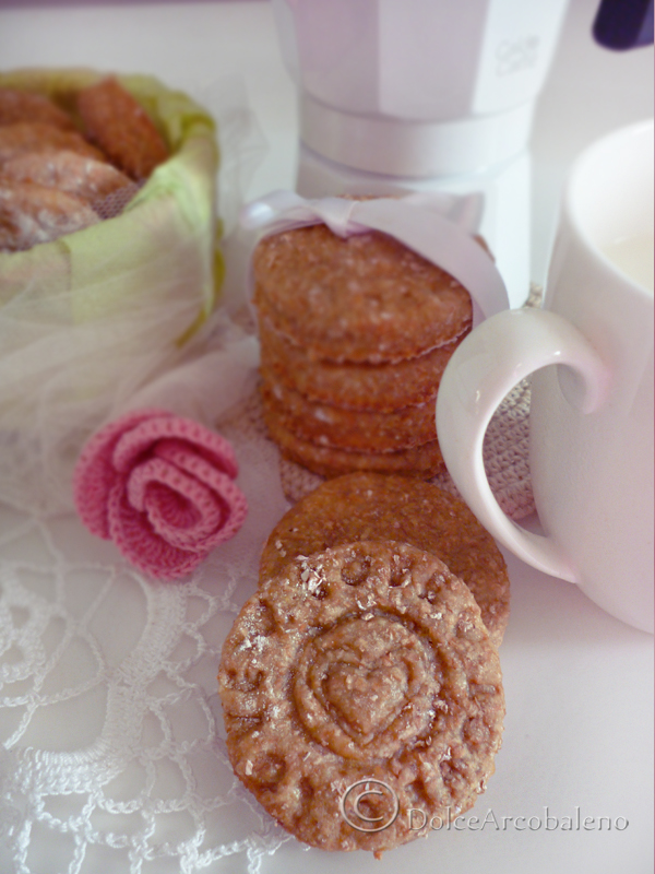 Biscotti Love light by Dolcearcobaleno