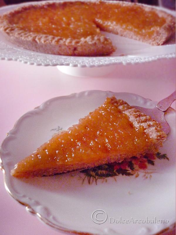 Crostata light alla marmellata di albicocche by Dolcearcobaleno