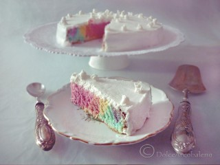 Torta arcobaleno light by Dolcearcobaleno