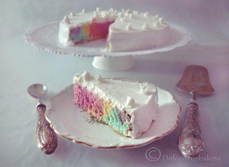 Torta arcobaleno light