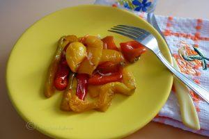 Peperoni al forno leggeri senza grassi
