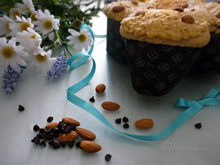 Colomba alle mandorle con gocce di cioccolato by Dolcearcobaleno