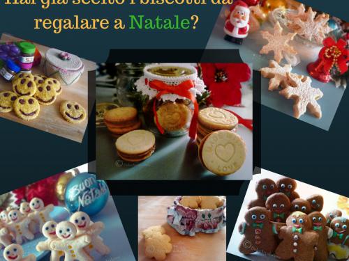 Biscotti da regalare a Natale fatti con le tue mani