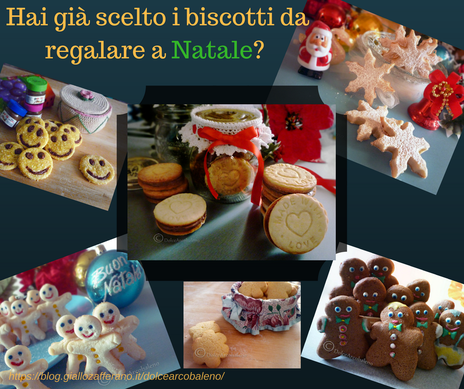 Biscotti da regalare a Natale by Dolcearcobaleno