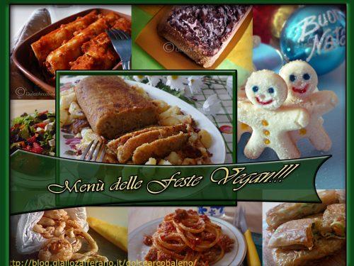 Menù delle Feste Vegan facile e veloce