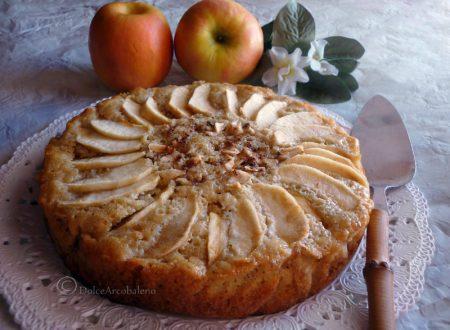 Torta fior di mela al cocco e yogurt