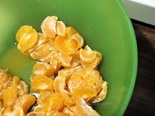 gelato al mandarino preparazione